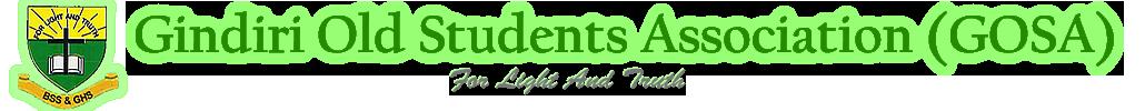 Gindiri Old Students Association Logo & motto
